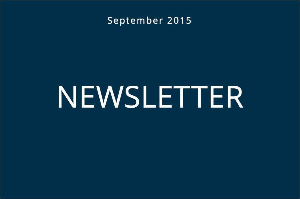 Uniseed Newsletter – September 2015